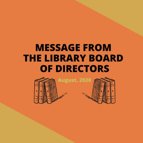 Message from the board of directors